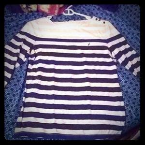 Nautica striped long sleeve